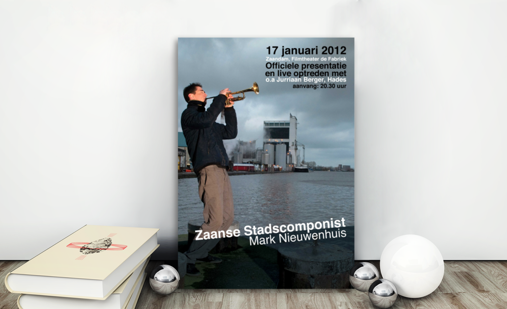 poster, graphic design, layout, promotion, Zaanse Stadscomponist